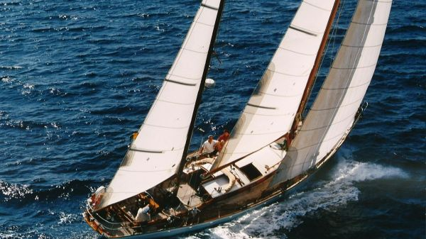 Classic Germán Frers Classic Ketch