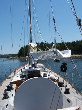 2005 Brooklin Boatyard Spirit of Tradition Sloop Brokerage Broker