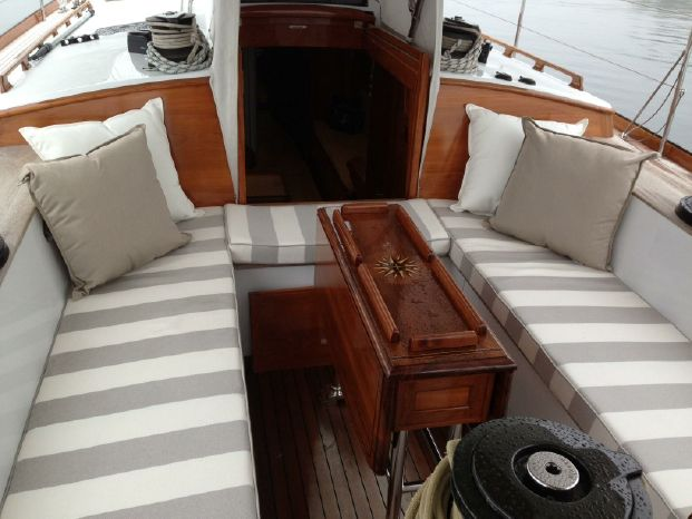 2005 Brooklin Boatyard Spirit of Tradition Sloop Brokerage Massachusetts