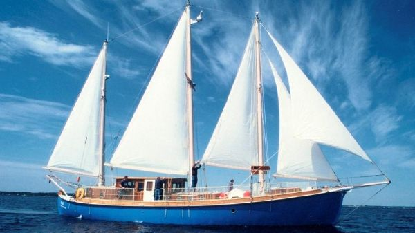 Expedition three masted marconi rigged Schooner
