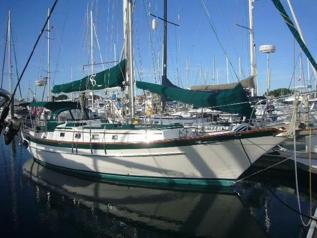 1991 Cabo Rico Custom Offshore 38 B Plan
