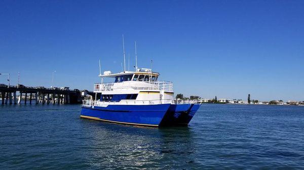 Custom Tri-Kat 49 Passenger Catamaran