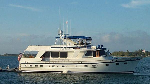 DeFever Performance Offshore Cruiser 66' DeFever starboard profile