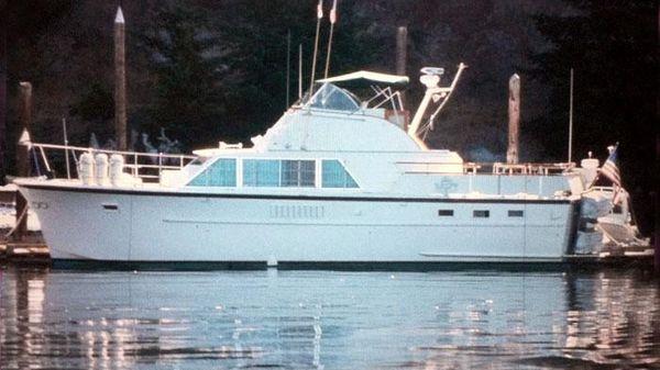Hatteras Bridgedeck Motoryacht
