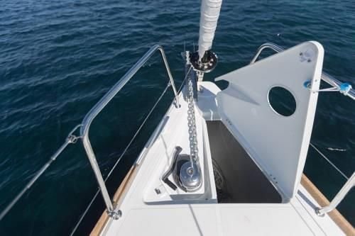 Beneteau Oceanis 38.1 In stock image