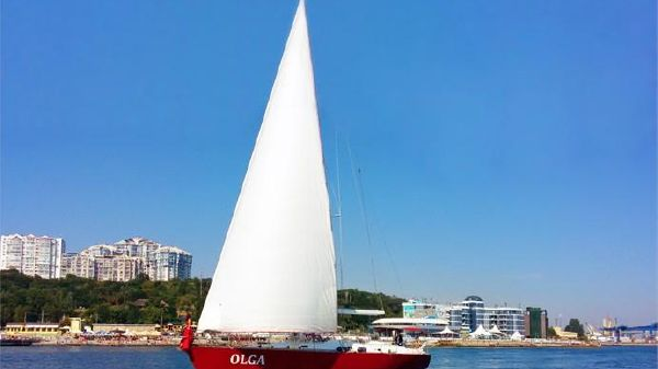 Custom Steel yacht