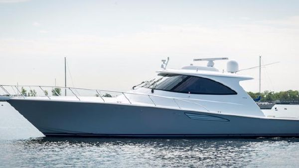 Viking 52 Sport Coupe Port Side
