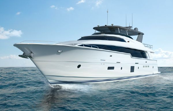 2020 Hatteras 105 Raised Pilothouse