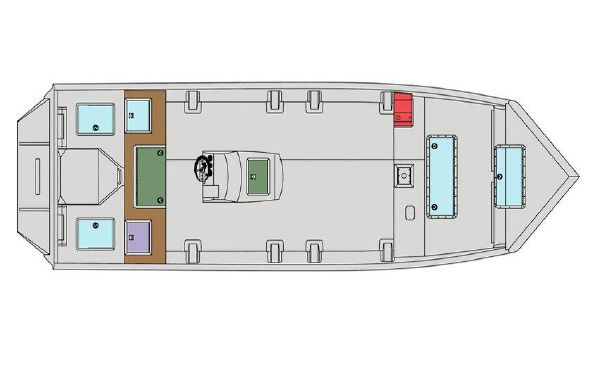 2021 SeaArk Predator 220 FS