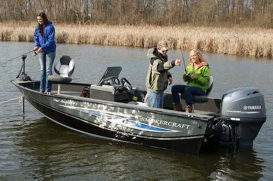 2018 Smoker Craft 171 Pro Angler XL