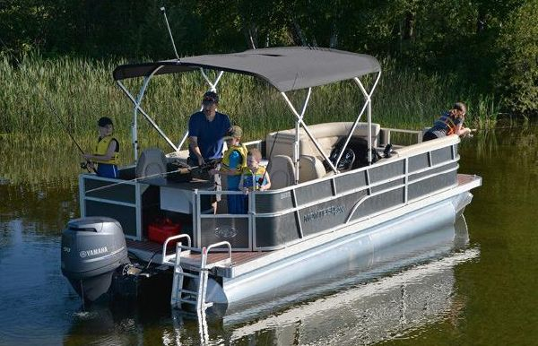 2018 Montego Bay 8522-2PT BK DLX Fish & Cruise