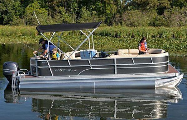 2018 Montego Bay 8524-2PT BK DLX Fish & Cruise