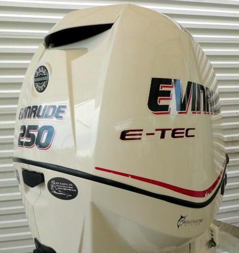2007 Evinrude E-TEC 250hp 25