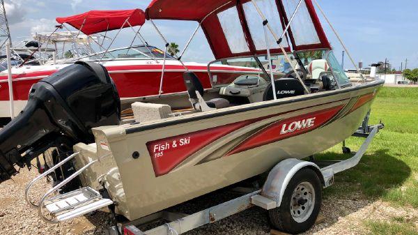 Lowe 186 fish & ski
