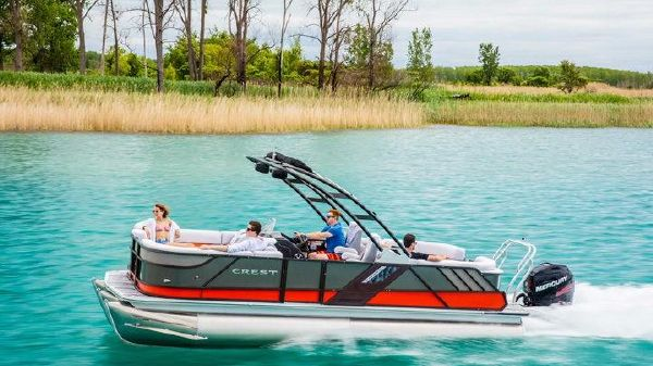 Crest Caliber 230 SLR2 Pontoon