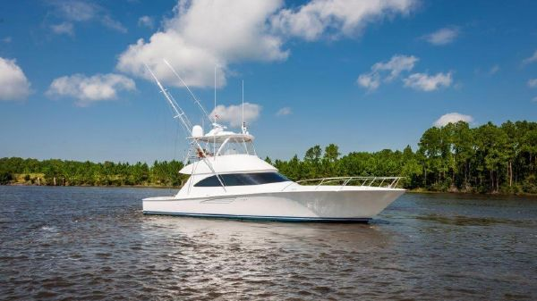 Viking 52 Convertible with Seakeeper
