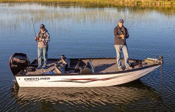 2021 Crestliner 1750 Bass Hawk