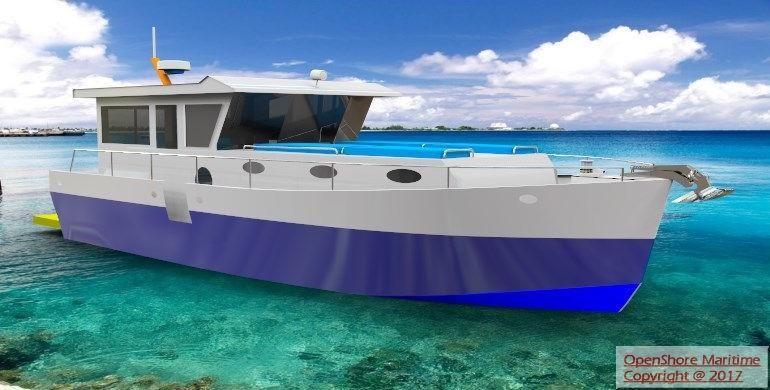 Custom Open Shore Islander 35 - main image
