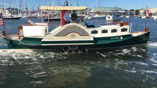 Tucker 35 Sidewheeler Paddleboat