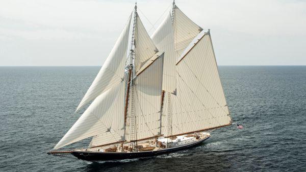 Custom Starling Burgess Grand Banks Schooner Superyacht