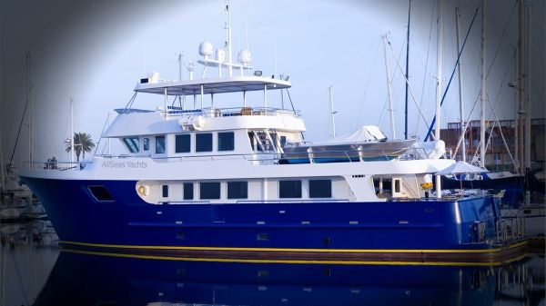 All Seas 92' Steel Expedition Cruiser