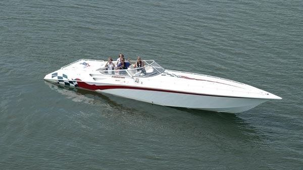 Used Fountain 42 Lightning Boats For Sale - Suncoast Powerboat and ...