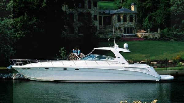 Sea Ray 550 Sundancer Mans Manufacturer Provided Image: 550 Sundancer