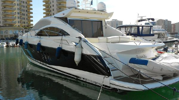 Sunseeker Predator 62 With new aft sun pad