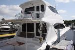 Hatteras 68 Enclosed Bridgeimage