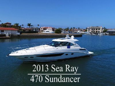 2013 Sea Ray<span>470 Sundancer</span>