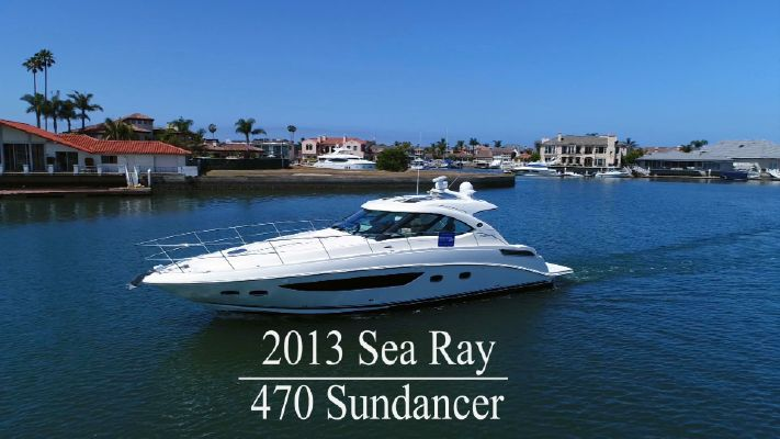 Sea Ray 470 Sundancer - main image