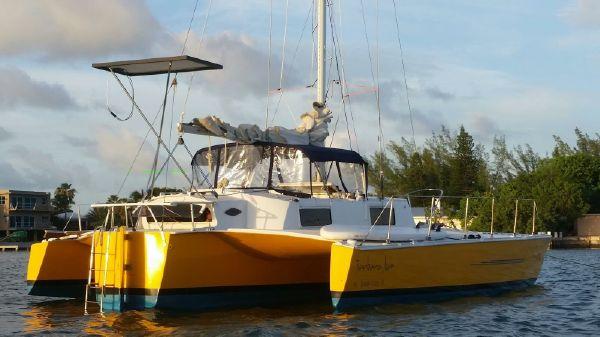 Custom Searunner 31 Trimaran