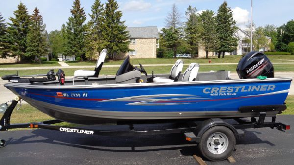 Crestliner 1600 FISH HAWK SC
