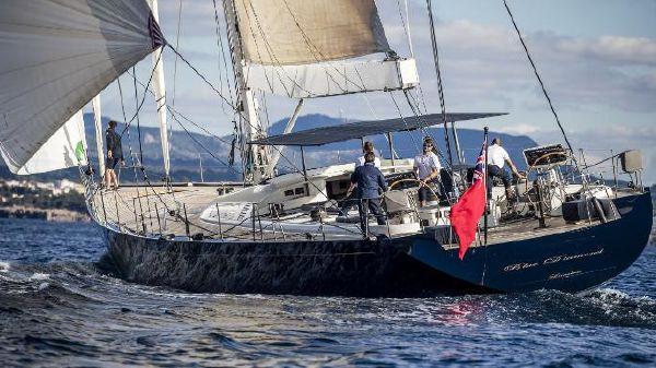 Custom Carbon Composite Sailing Yacht