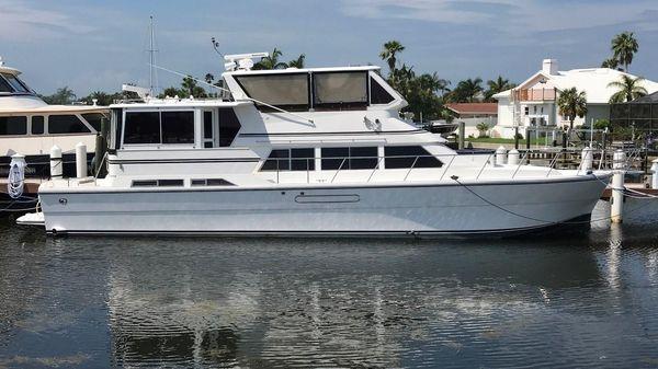 Novatec 55 Cockpit Motor Yacht Profile