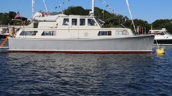 Willard Marine Trawler Yacht Conversion