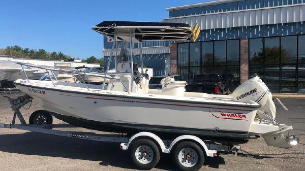Boston Whaler 20 Outrage Boats For Sale - South Shore Dry Dock