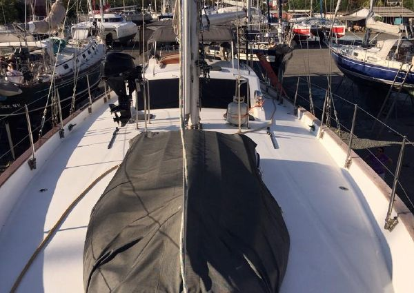 Pan Oceanic 46 Ted Brewer Pilothouse Cutter image