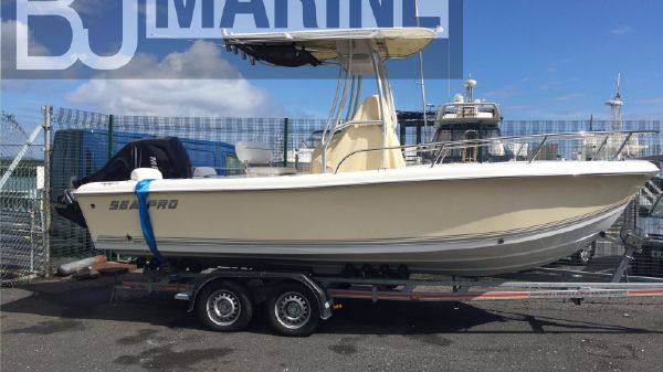 Sea Pro 196 Center Console Sea Pro 196 Center Console with BJ Marine