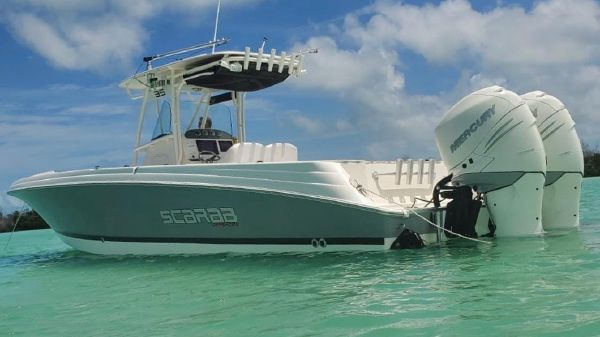 Wellcraft 35 Scarab Offshore Tournament