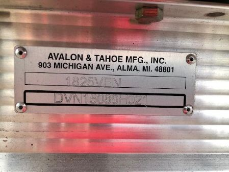 Avalon VENTURE 18-20 CR REAR BENCH image