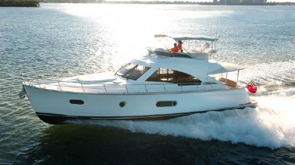 Belize Riviera 54 Daybridge- IN STOCK! Running Shot