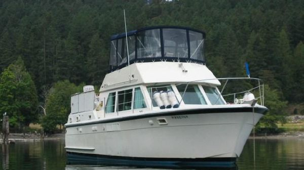 Hatteras Double Cabin Flybridge