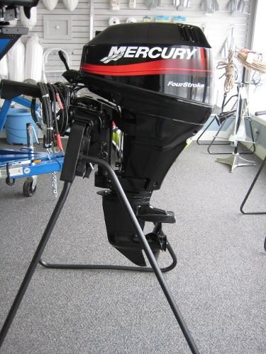 2002 Mercury 15 HP EH 4STROKE 15 HP United States - Carl