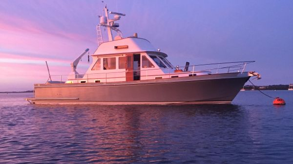 Snug Harbor Ray Hunt 50 with Rolls Royce Jets