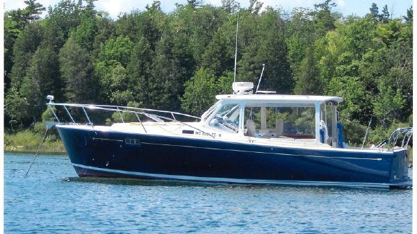 MJM 34z Downeast