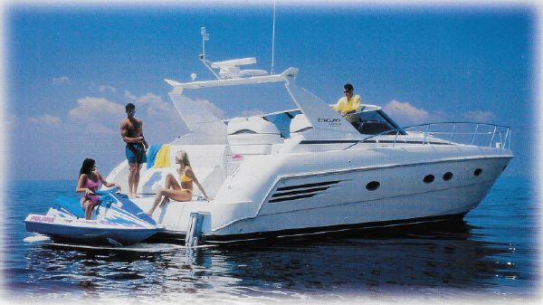Trojan 440 Express Yacht Profile when new