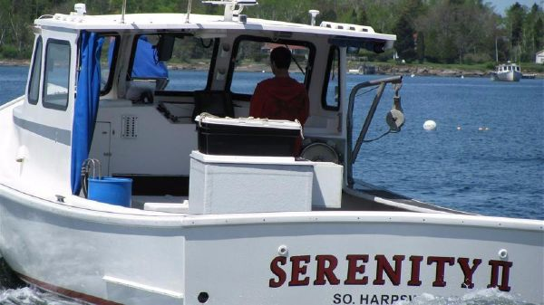 South Shore Lobster Boat - Now Includes 800 Lobster Traps & Gear 34' South Shore Lobster Boat For Sale