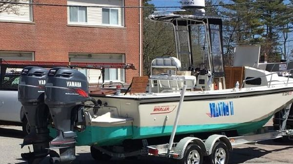 Boston Whaler 25 Outrage Cuddy