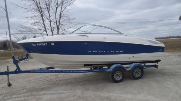 Used Bayliner 212 Capri Cuddy Power Boats For Sale - Port Clinton